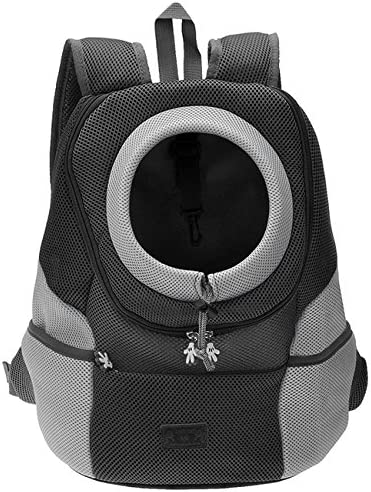 CozyCabin Latest Style Comfortable Dog Cat Pet Carrier Backpack Travel Carrier Bag Front