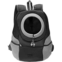 CozyCabin Latest Style Comfortable Dog Cat Pet Carrier Backpack Travel Carrier Bag Front for Small Dogs Puppy Carrier…