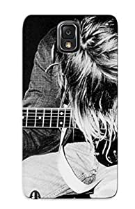 New Fashion Premium Tpu Case Cover For Galaxy Note 3 - Music Nirvana Kurt Cobain Case For New Year's Day's Gift