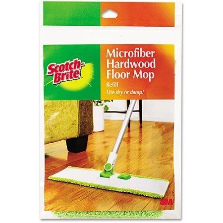 Microfiber Mop Refill for Hardwood Floors by Scotch-Brite - Microfiber Hardwood Floor Mop