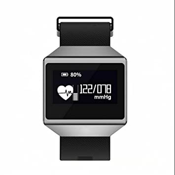 ... Fitness Reloj Podómetro Reloj Deportivo Smart Paracord con Tensiómetro Dormir Supervisión Horizontal y mando a cámara: Amazon.es: Deportes y aire libre