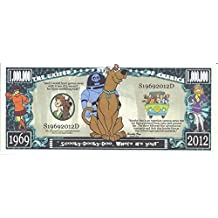 Scooby Doo 1 Million Mystery Dollars Novelty Banknote