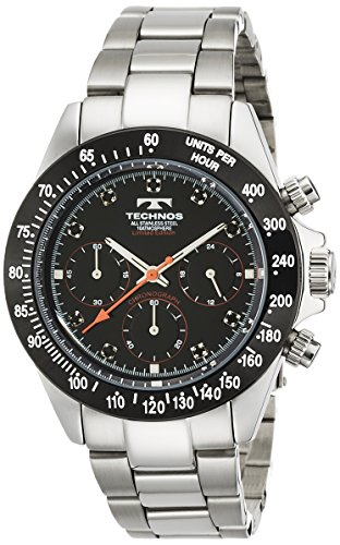 TECHNOS Men's Watch Technos chronograph zirconia Limited edition T4102TB