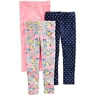 [Sponsored]Baby and Toddler Girls' 3-Pack Leggings