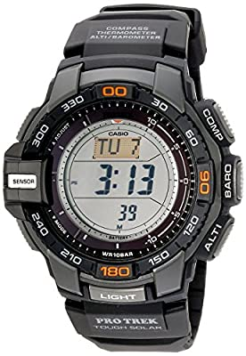 "Casio Men's PRG-270-1 ""Protrek"" Triple Sensor Multi-Function Digital Sport Watch by Casio"