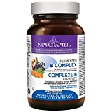 New Chapter Fermented Vitamin B Complex - Fermented B Complex with Vitamin B12 + Vitamin B6 + Biotin + Organic Non-GMO Ingredients - 30 ct