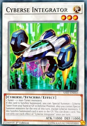 Yu-Gi-Oh! - Cyberse Integrator - SAST-EN043 - Savage Strike - First Edition - Common