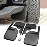 Kyпить Premium Heavy Duty Jeep Mud Flaps for 2007-2018 Jeep Wrangler JK JKU JK Rubicon Jeep Unlimited Front and Rear Flaps Guards PROAUTO Front Deluxe Molded Splash Guards-4 Piece на Amazon.com