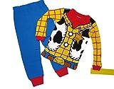 Disney Toy Story Boy's Size 4 Sheriff Woody Pajama Pants Set