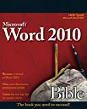 Word 2010 Bible, Herb Tyson, 0470591846