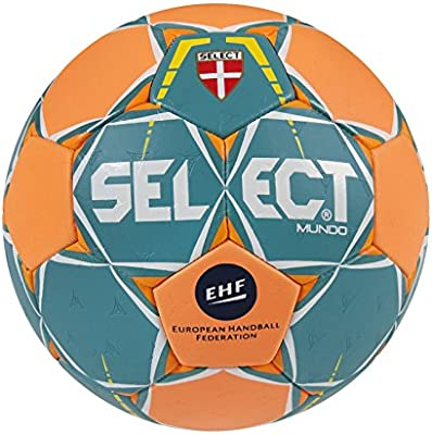 SELECT Mundo – Balón de Balonmano, Color türkis/Orange, tamaño 1 ...