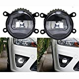 mitsubishi asx grill - Brand New Honda CRV Ford Focus Fiesta Explorer Ecosport Pajero ASX Multifunction Car Styling 12V 27W Highlight LED Front DRL Daytime Fog Lights Daylight Running Lamps Day Light Assembly