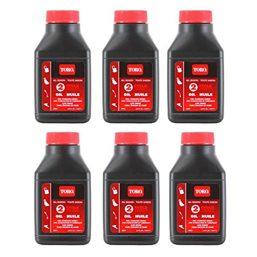 Toro 38901 2-Cycle Oil 2.6 Oz (6) ()