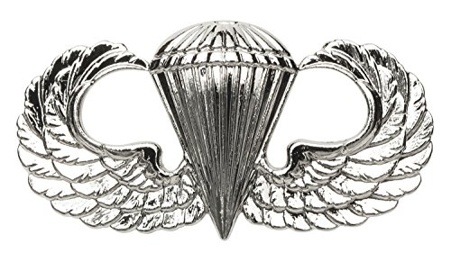 Basic Parachutist Badge, Fullsize, US - Parachute Army Wings