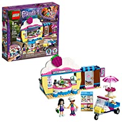 Technology and food combine at the LEGO Friends 41366 Olivia's Cupcake Café with lots of super-cool gadgets for imaginative pretend play. Inspired by the sushi restaurants of Heartlake City's tech district, the cupcake café features a server ...