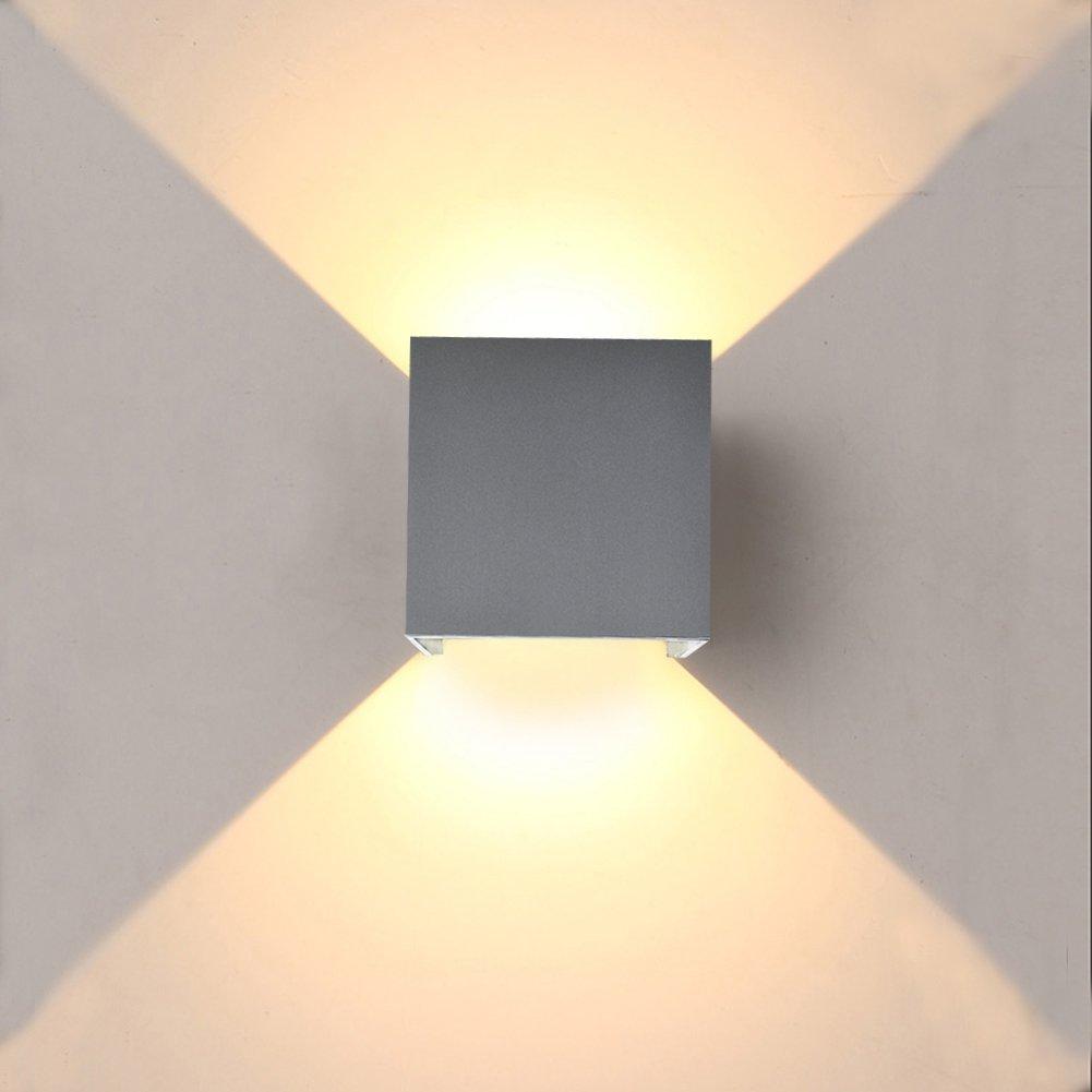 Amazing INHDBOX Aluminum Waterproof IP65 LED Exterior Wall Light Angle Adjustable  Lamp Modern Simple Charm Wall Lamp For Indoor/outdoor,corridor,stair,bathroom  ...