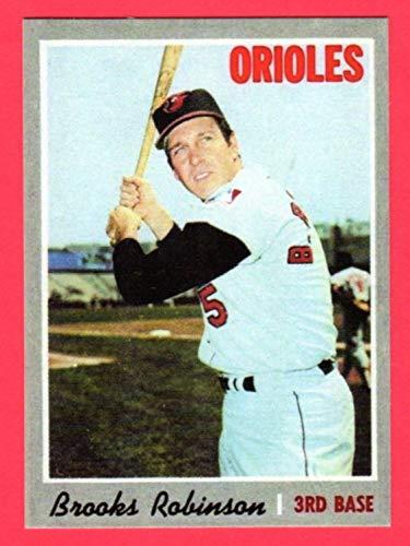 - Brooks Robinson 1970 Topps Baseball Reprint Card (Baltimore Orioles)