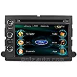 2005-2014 Ford F-250 F-350 2004-2008 F-150 In-Dash GPS Navigation DVD CD Stereo Bluetooth Hands-free A2DP Music Streaming FM AM Radio USB MP3 SD AV Receiver Steering Wheel Controls iPod iPhone Ready Touch Screen Multimedia Player AUDIO VIDEO Deck