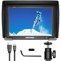 Neewer NW-T7 7-inch Camera Field Monitor 1080P Supports 4K HDMI Input 1920x1200 for DSLR Mirrorless Camera SONY A7S II A6500 Canon 5D Mark IV Panasonic GH5 DJI Ronin M and More(Battery NOT Included)
