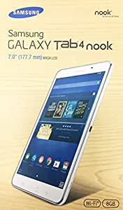Samsung Galaxy Tab 4 NOOK Edition 8GB Tablet WIFI (7-Inch, WHITE) SM-T230NU