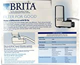 Brita On Tap Replacement Filters, 4-Pack, Chrome