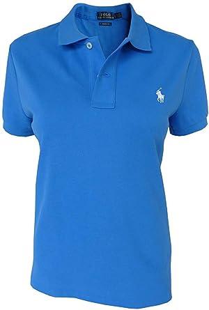 Polo Ralph Lauren Camisa de Polo T.L, Polo Flequillo, Azul ...
