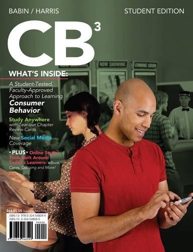 CB 3 (with Marketing CourseMate with eBook Printed Access Card)