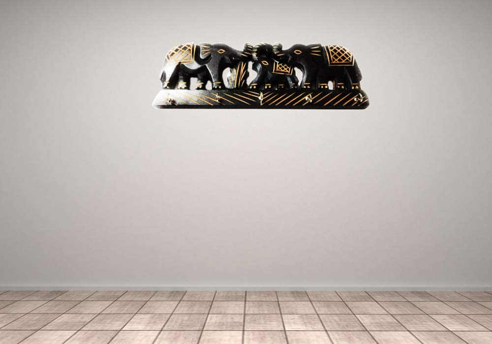 SHINEWOOD Elephant Key Holder for Wall