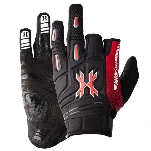 HK Army 2014 Pro Paintball Gloves - Lava - Small by HK Army