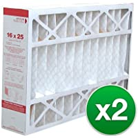 Replacement Air Filter 16x25x4 MERV 11 for Honeywell (2 Pack)