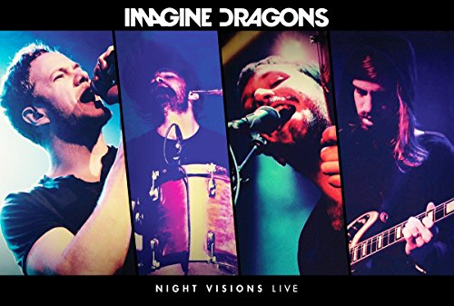 Imagine Dragons Music Poster Night Visions Live