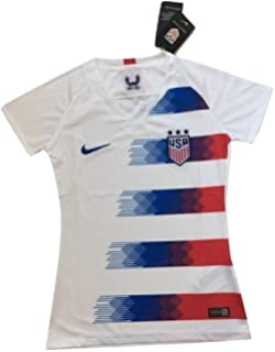 32f3dbaad32 Scshirt Women's USA National Team 2018-2019 Home Soccer Jersey White -  Soccer Jersey Size