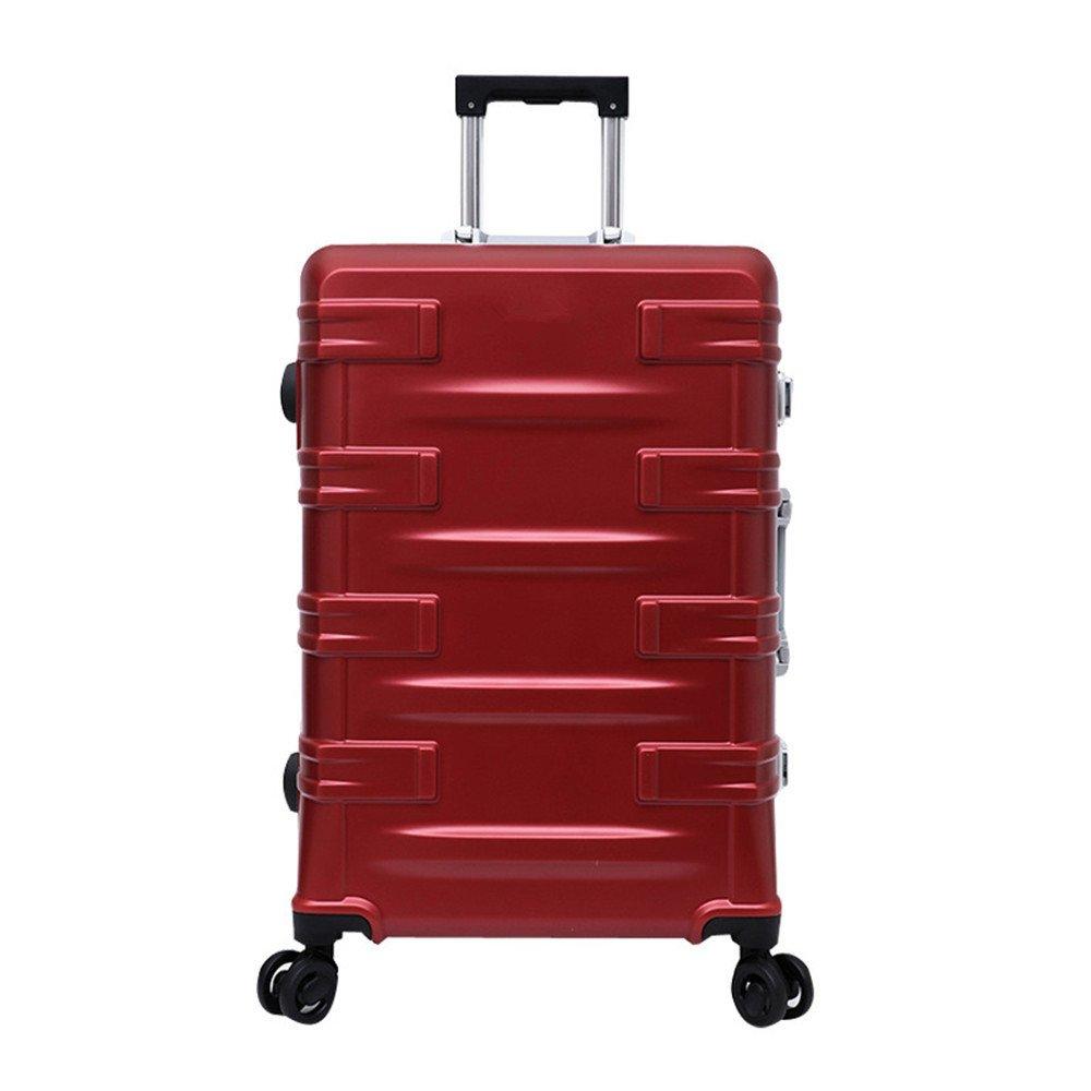 旅 ギスーツケース キャリーケース 20と24インチプルロッドボックス屋外トラベリングボックスユニバーサルホイールアルミフレームプルロッドボックス (サイズ : 20) B07S8TB4CW  20