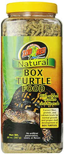 Zoo Med Natural Box Turtle Food, 20-Ounce (Box Turtle Canned Food)