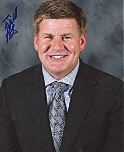 Bill Peters Carolina Hurricanes Signed Autographed 8x10 Photo W/coa - Autographed NHL Photos