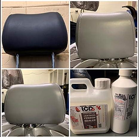 Tinte y sellador de piel, todo en uno, para reparación de arañazos, 250 ml, color negro