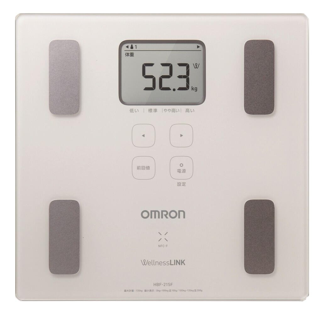 Omron KARADA Scan Body Composition & Scale   HBF-215F-W (Japanese Import)