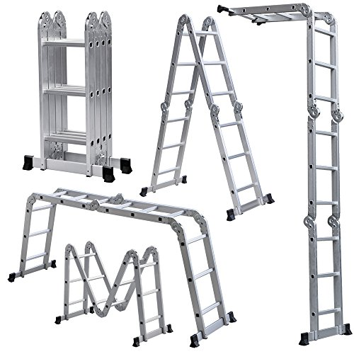 Radical Deal Multi Purpose Aluminum Ladder Folding Step