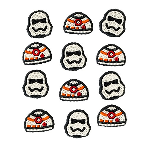 Wilton 710-3035 Star Wars Icing Decorations (Halloween Decoration Ideas For Cupcakes)