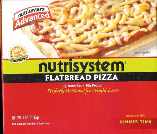 NutriSystem Advanced Italian Herb Flatbread Pizza