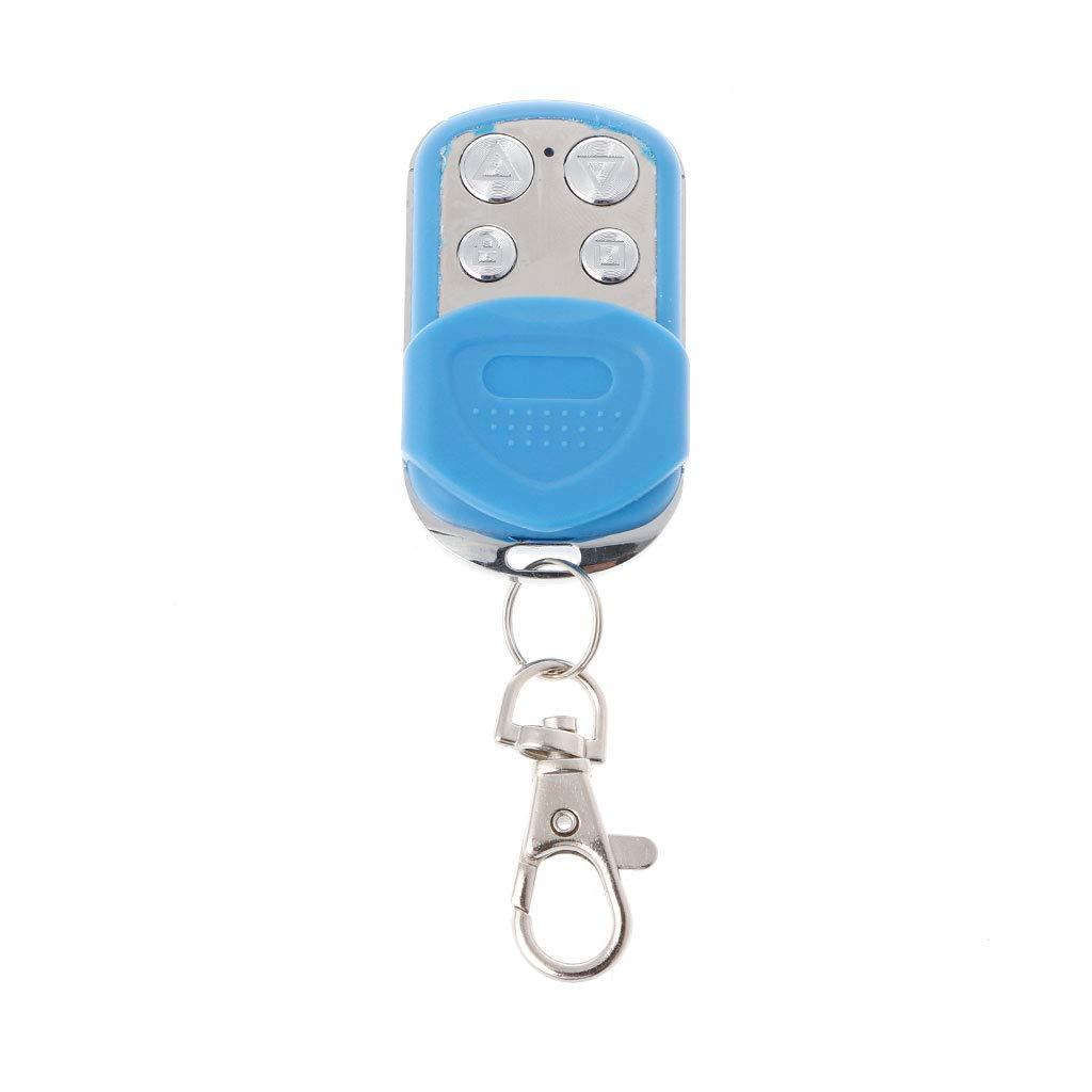 Baodanjiayou 433Mhz Duplicator Copy Cloning Remote Control Transmitter For Garage Door Gate Blue