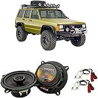 Fits Jeep Cherokee 1988-1996 Front Door Factory Replacement Harmony HA-R5 Speakers New