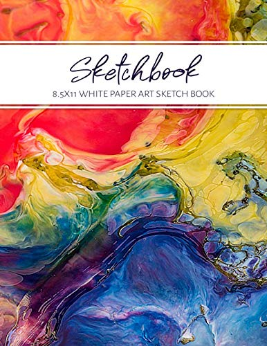 Sketchbook - White Paper Art Sketch Book: Draw Doodle Create ()