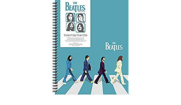 2018 The Beatles Small Poly Planner / Calendar (Day Dream ...