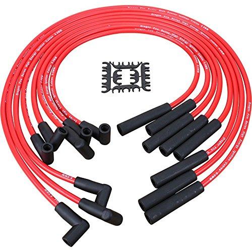 Performance HEI Spark Plug Wires for 1974-1990 Oldsmobile 260 307 350 403 455 V8 Oem Fit PWJ137