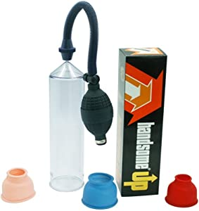 Professional Men Sucking Vacuum Pump Male Length Prolong Device with Clear Tube for Easy View