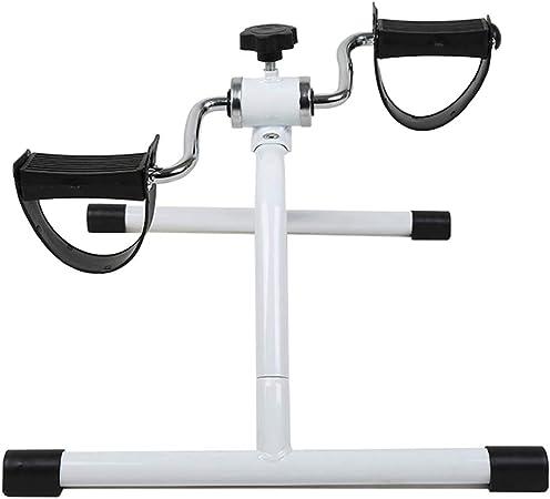 Life HS Pedal de Ejercicio portátil, Bicicleta, piernas y Brazos, Mini Pedal Deportivo y Monitor LCD, Ejercicios de recuperación de Brazos y Rodillas.: Amazon.es: Hogar