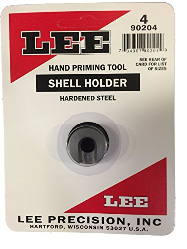 Lee Auto Prime Shell Holders - LEE PRECISION 90204#4 (17 Remington, 204 Ruger, 223 Remington) Auto Prime Hand Priming Tool Shellholder
