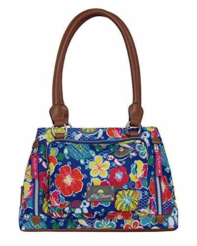 lily-bloom-triple-section-maggie-multi-purpose-satchel-bag-turtle-power