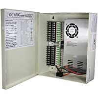 SPT Security Systems 15-PB29A18D4 18 Port CCTV Power Box (Beige)